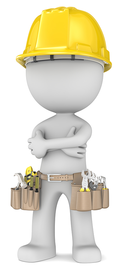 figure with hardhat and toolbelt arms crossed